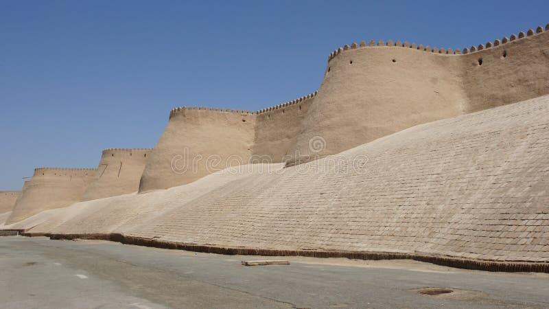 Khiva, route en soie, Uzbekistan image libre de droits