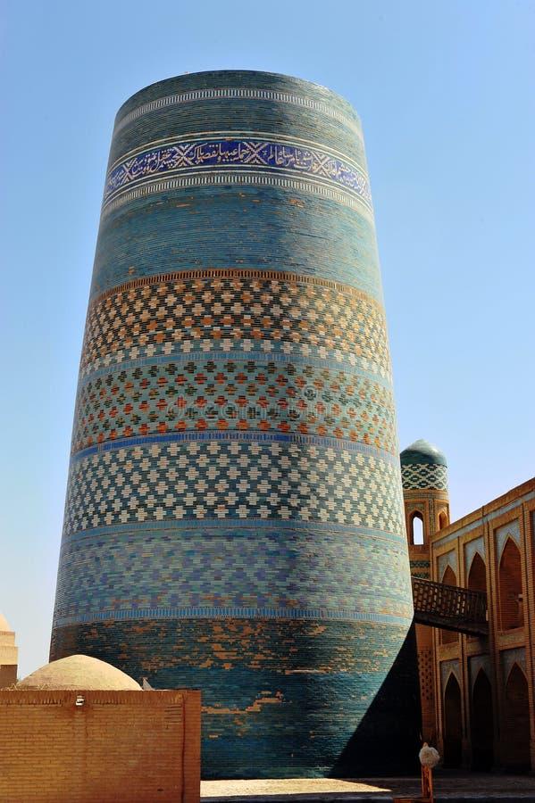 Khiva: torre medievale immagini stock
