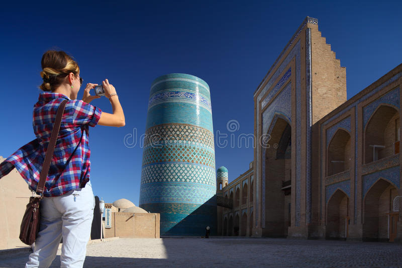 Khiva royalty free stock photography