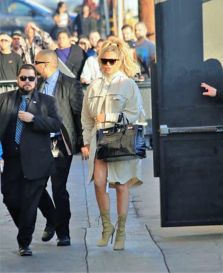 Khloe Kardashian imagem de stock