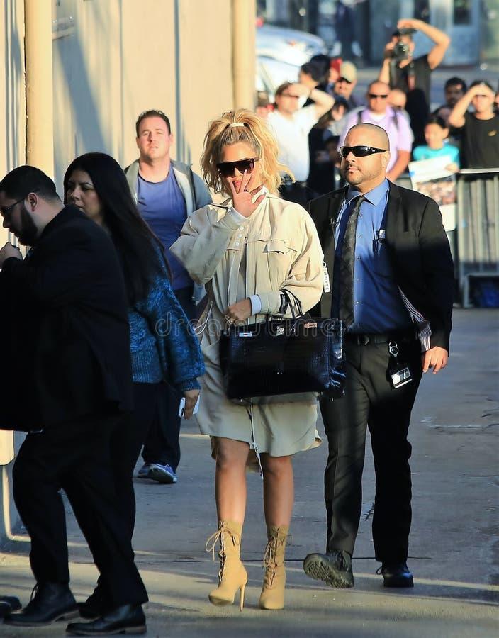 Khloe Kardashian fotografia de stock royalty free