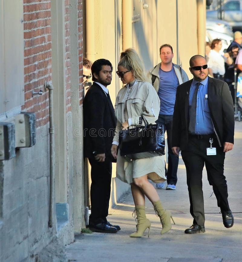 Khloe Kardashian fotografia de stock