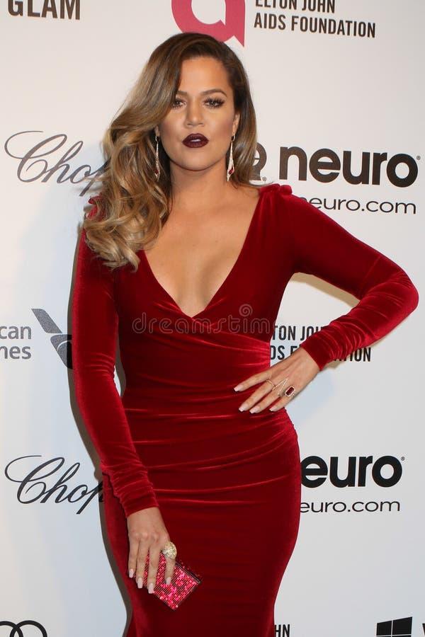 Khloe Kardashian imagen de archivo libre de regalías