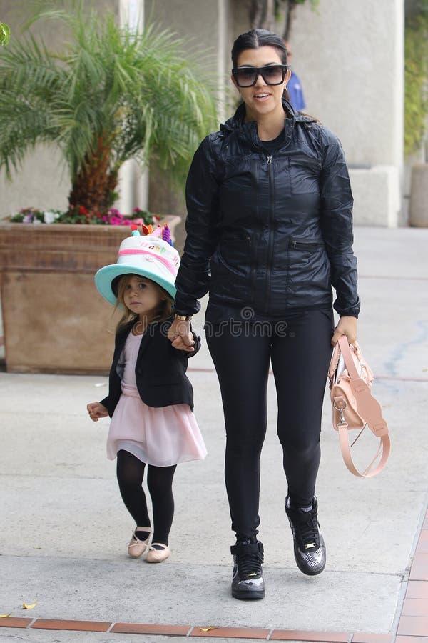 Khloe Kardashian Odom στοκ εικόνα