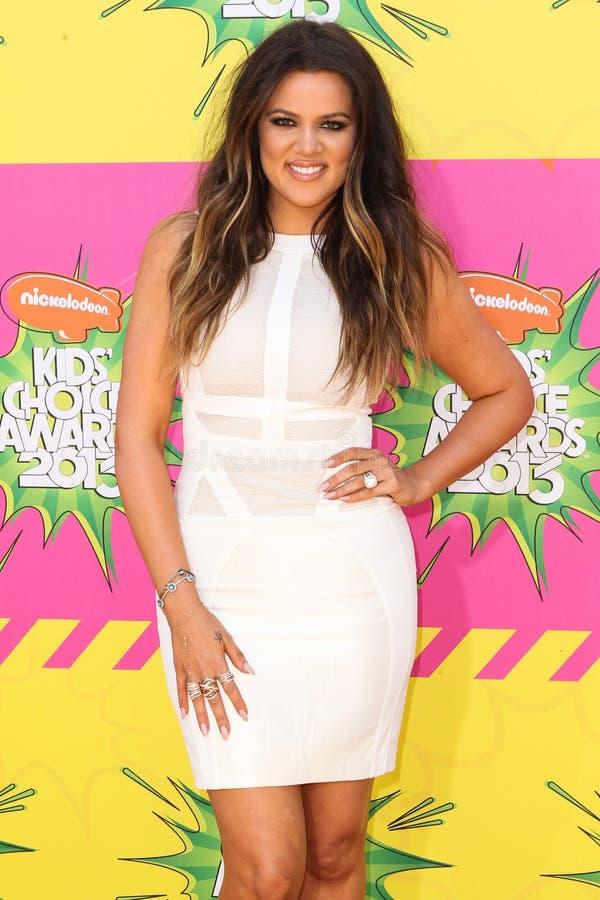 Khloe Kardashian Odom στοκ εικόνες