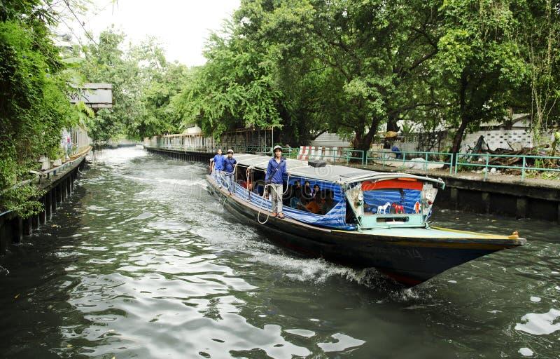 Khlong Canal Ferry Boat Bangkok Thailand Editorial Stock Image