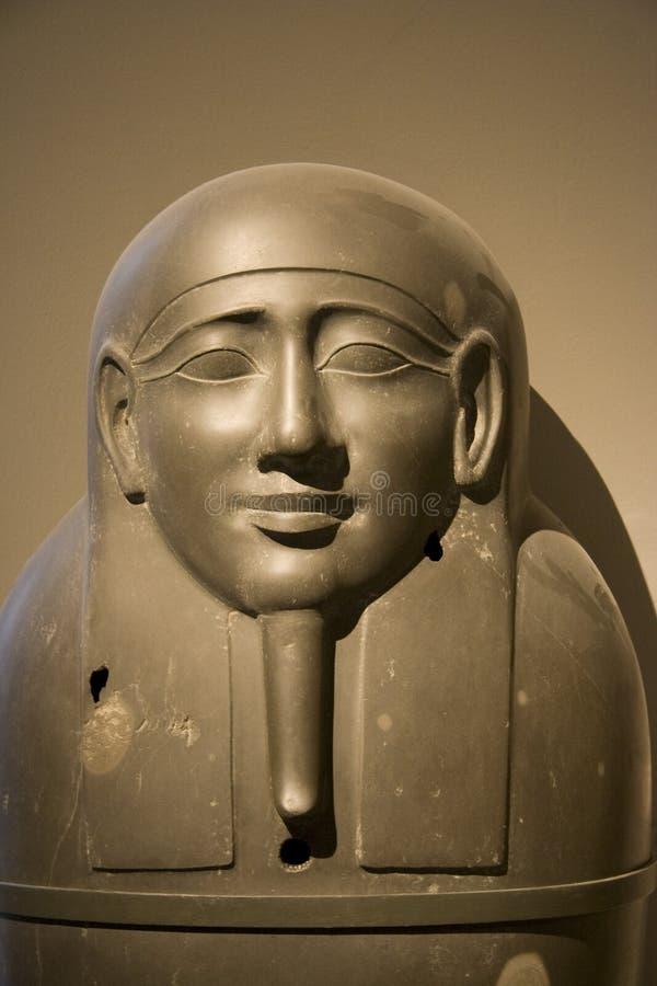 KHM Ägypten Ausstellung - Sarkophag lizenzfreie stockbilder
