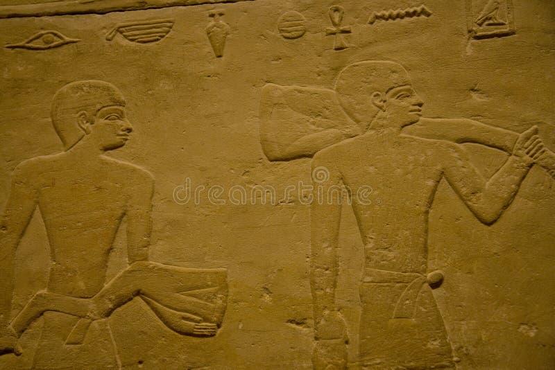 KHM Ägypten Ausstellung - Tabletten stockfoto
