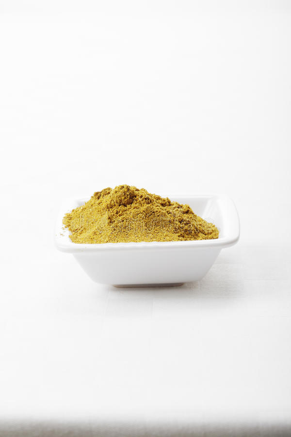 Download Khmeli Suneli Spice Mixture On Tablecloth Stock Images - Image: 16828624