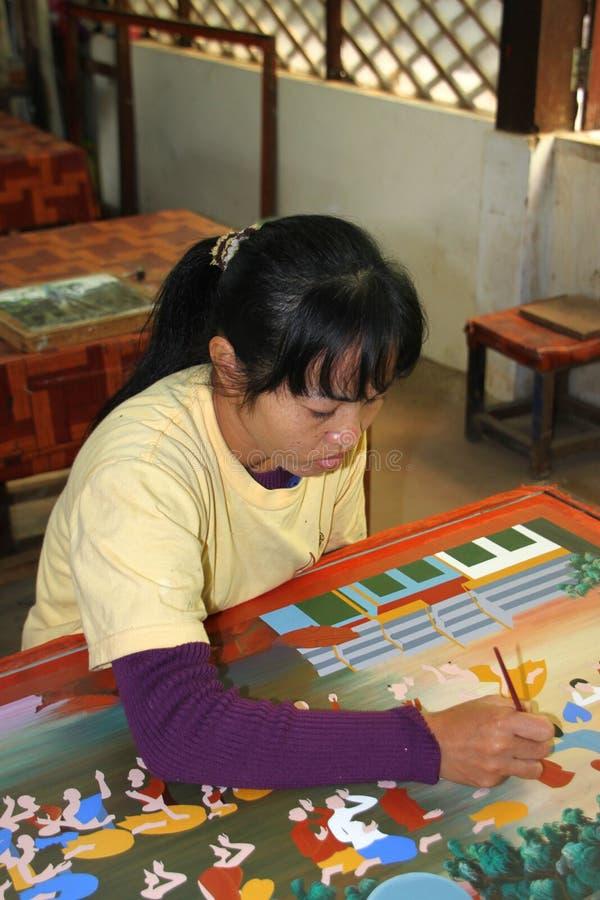 Khmer βιοτεχνία στοκ φωτογραφία με δικαίωμα ελεύθερης χρήσης