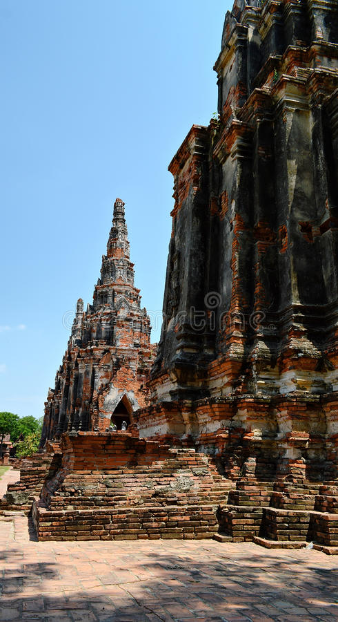 Khmer πύργος στοκ εικόνα