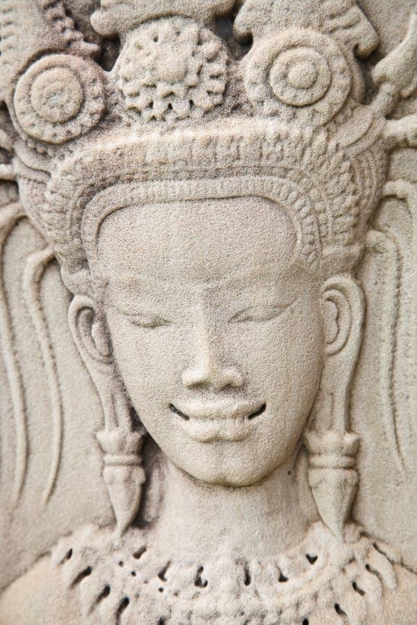 Khmer Art, Angkor Wat Stock Photography