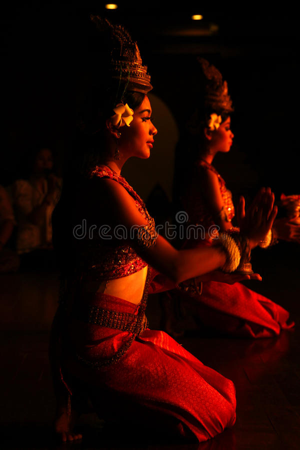 Free Khmer Dance Stock Image - 22023121