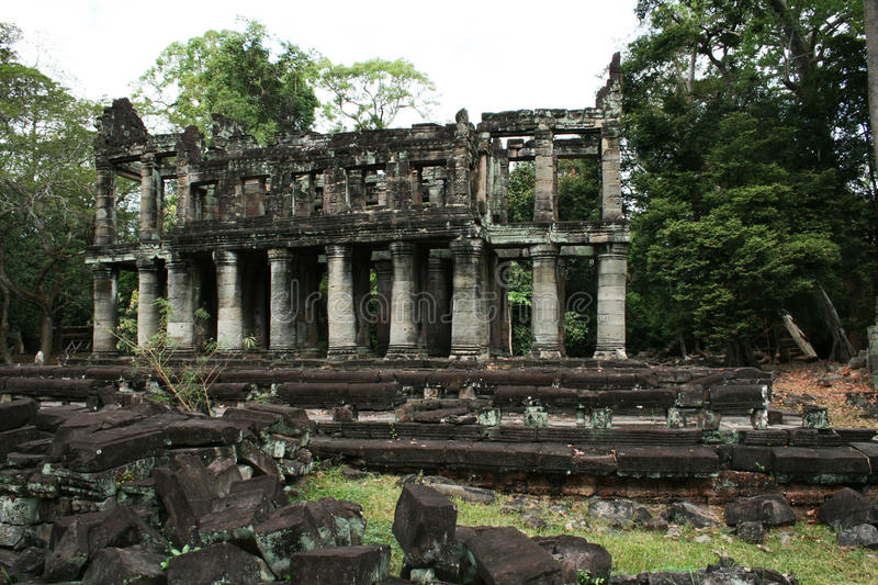 Khmer preah khan. The ruins of the ancient khmer temple preah khan at angkor in cambodia stock images