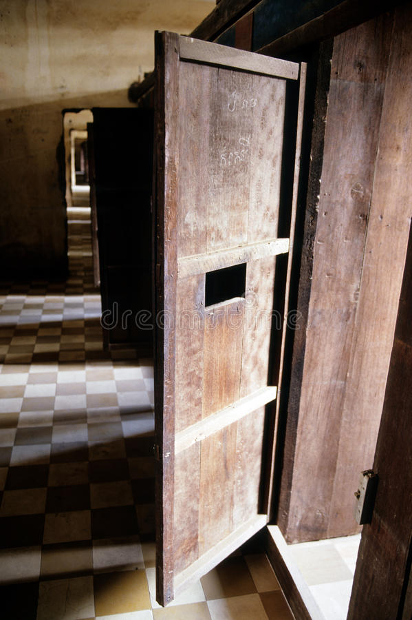 Download Khmer Rough Prison- Phnom Penh, Cambodia Stock Image - Image of history, room: 12478975