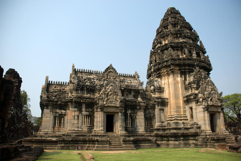 Download Khmer temples stock photo. Image of ratchasima, park - 18683192