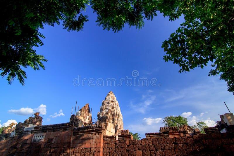 KhmerArt slott royaltyfri bild