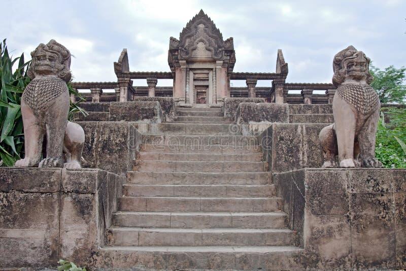 Khmertempel stockfotos