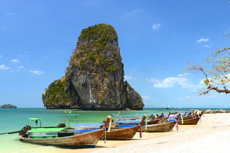Kho Poda in Krabi Thailand stock photo