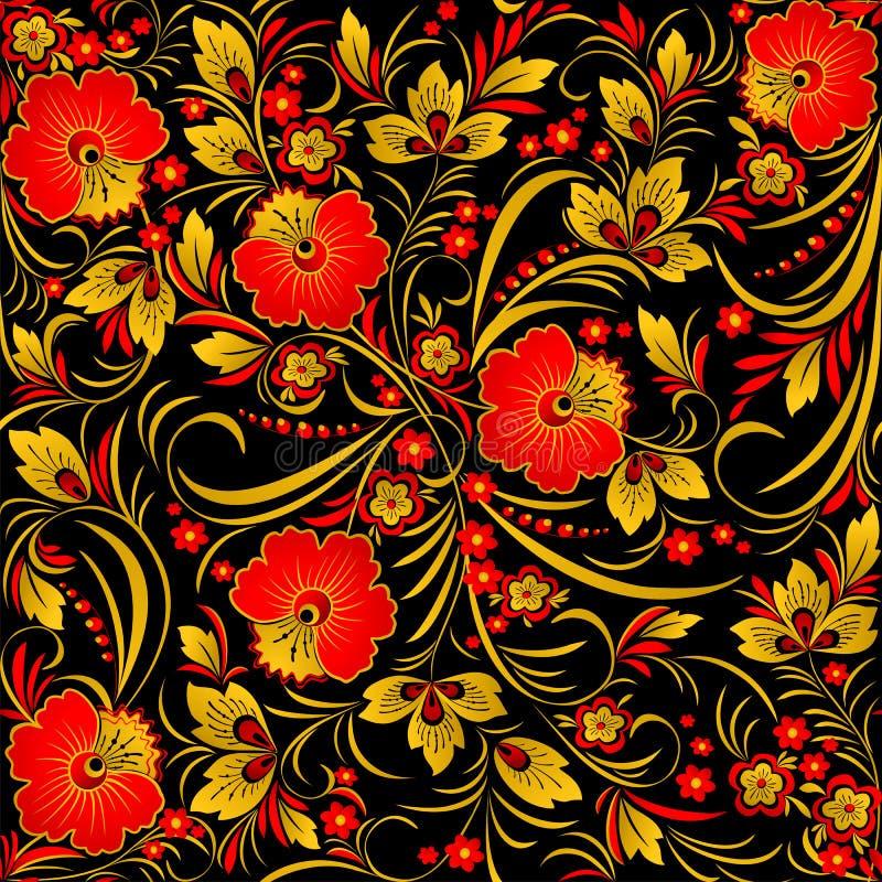 Картинки цветы хохлома