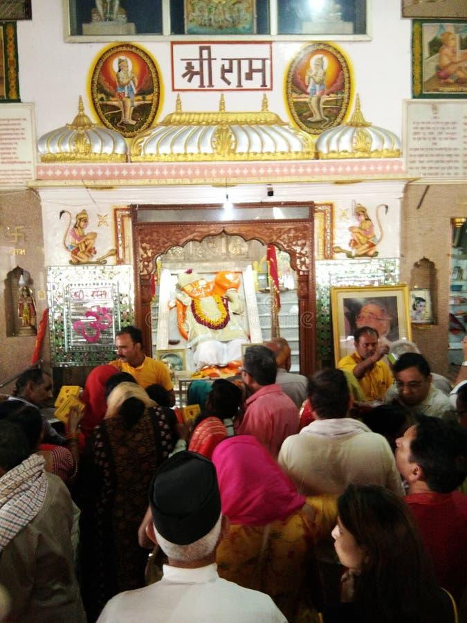 Khole Hanuman Temple, Rajasthan,  India stock photography
