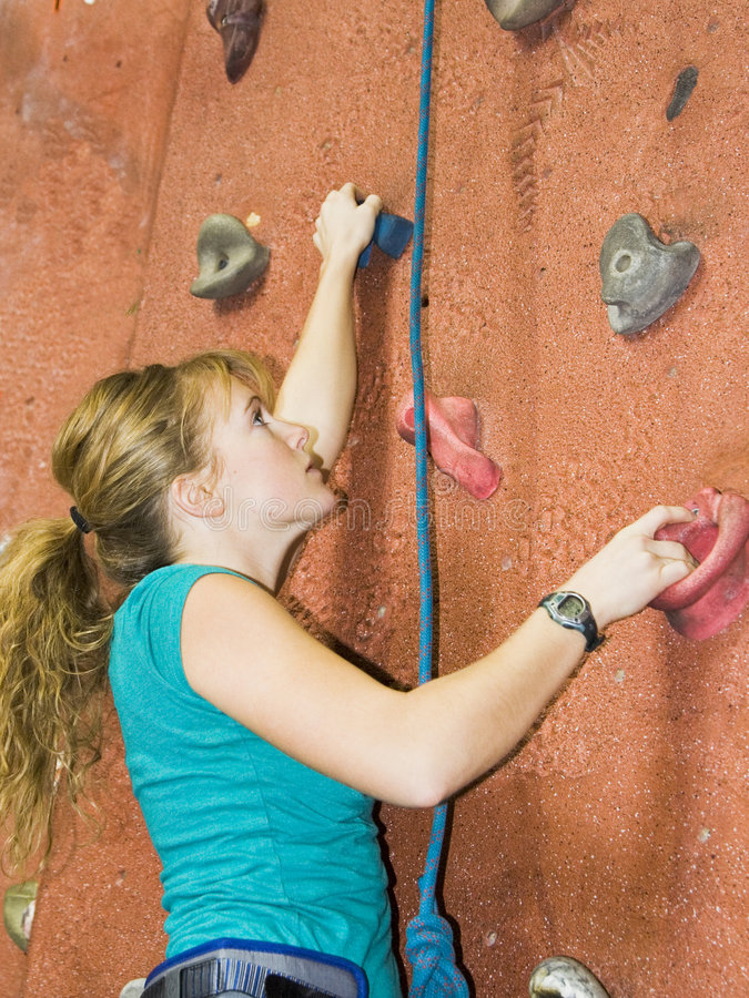Khole Rock Climbing Series A 28 royalty free stock image