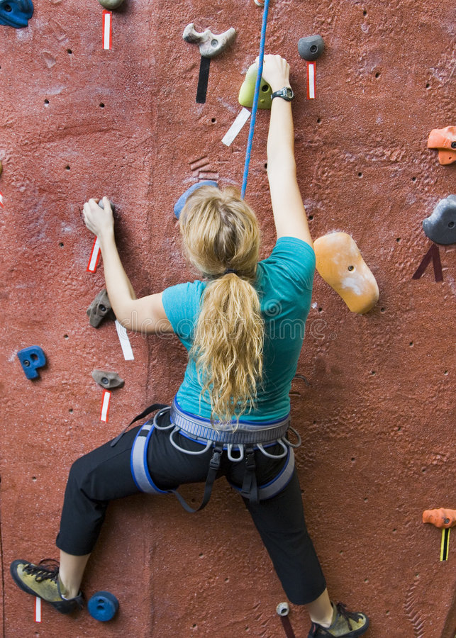 Khole Rock Climbing Series A 31 Royalty Free Stock Image
