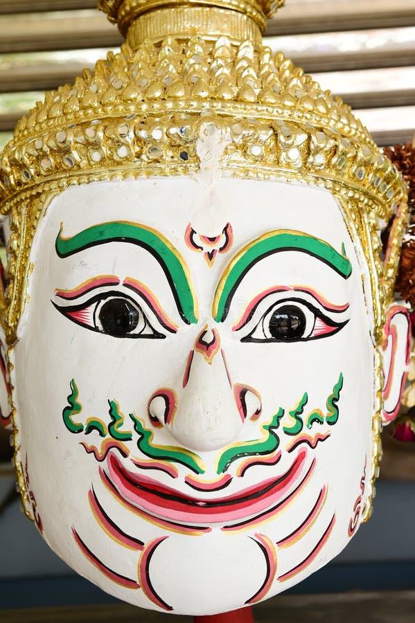Khon, маска Анджела в родном тайском стиле стоковое изображение