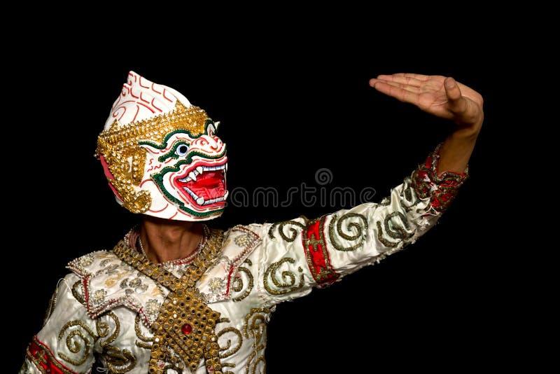 khon royaltyfri bild
