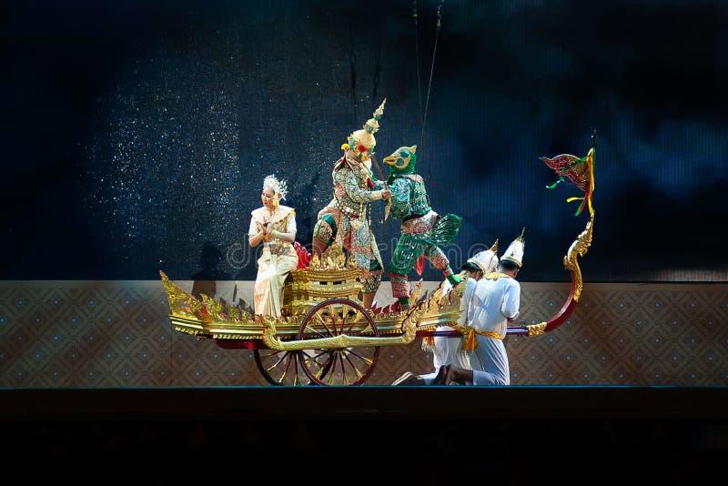 Khon, Dance performances of Thailand. royalty free stock image