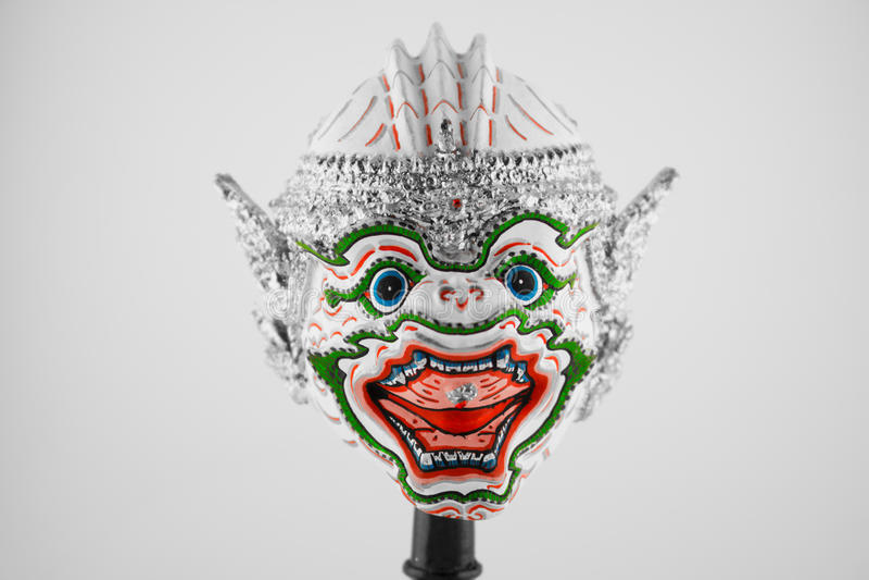 Khon traditioneel Thais reuzemasker royalty-vrije stock foto