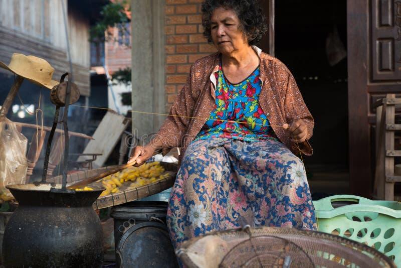 Khonkean, Tailandia 25 ottobre: Khonkean la Tailandia ol del 25 ottobre 2017 immagini stock libere da diritti