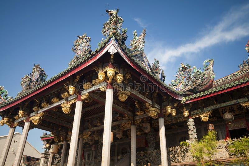 khoo kongsi马来西亚槟榔岛 免版税库存照片