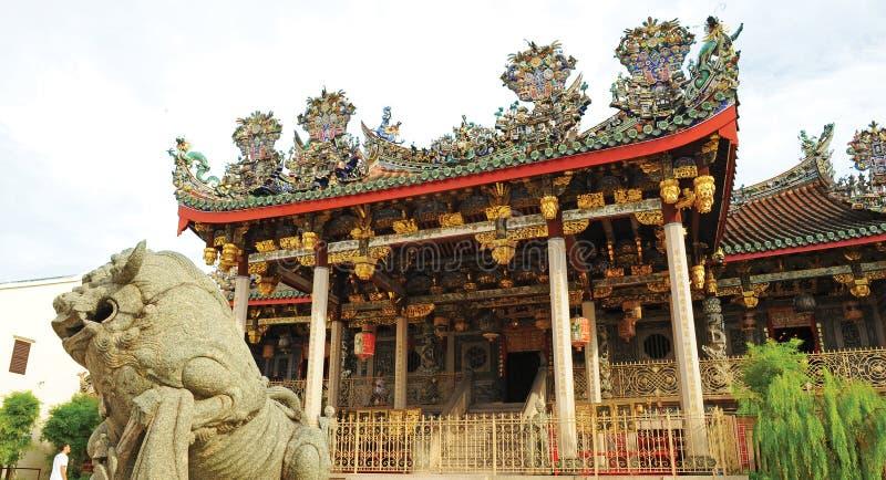 Khoo Kongsi royaltyfria bilder