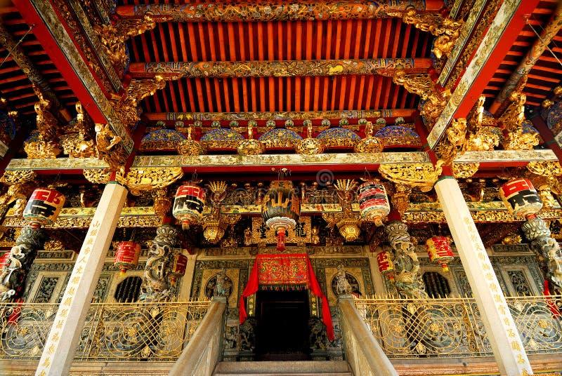 Khoo Kongsi kinestempel royaltyfria foton