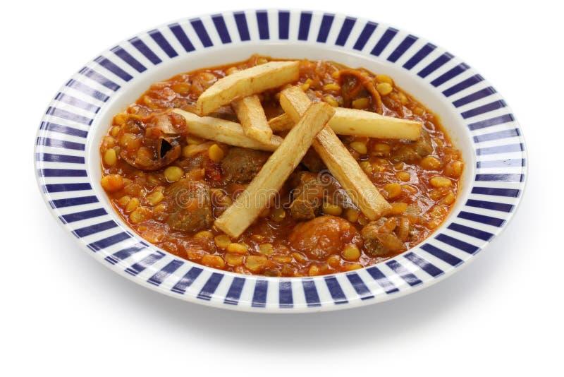 Khoresh gheimeh, iranian cuisine. Khoresh gheimeh, lamb & yellow split pea stew, iranian persian cuisine stock images