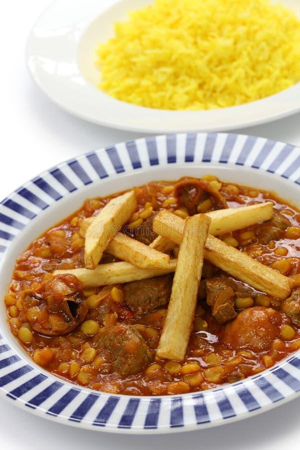 Khoresh Gheimeh Iranian Cuisine Stock Image Image Of Iran - Cuisine iranienne