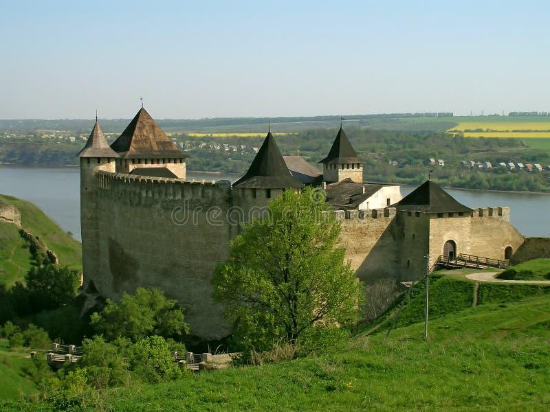 khotyn de forteresse photographie stock libre de droits