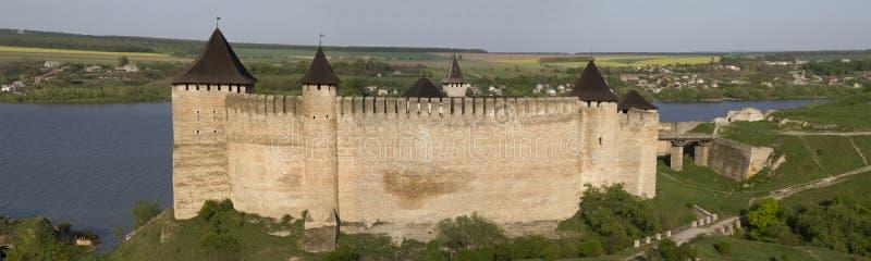 Khotyn-Festung stockbild