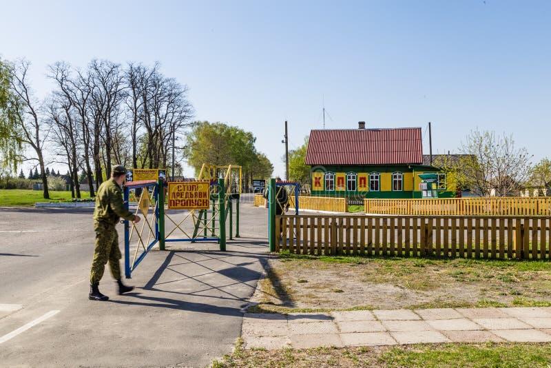 Khoyniki i Vitryssland royaltyfri foto