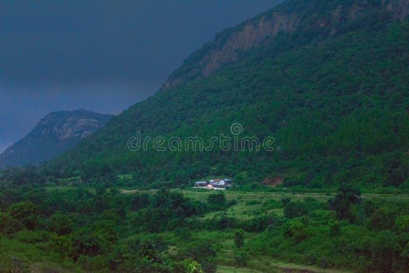 Khoyraberhi-Wasserverdammung - Purulia, Westbengalen, Indien stockbilder