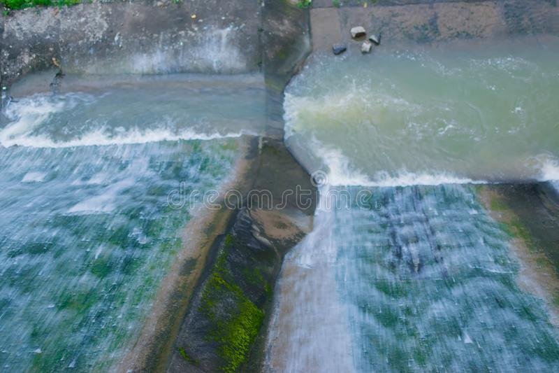 Khoyraberhi-Wasserverdammung - Purulia, Westbengalen, Indien stockfoto