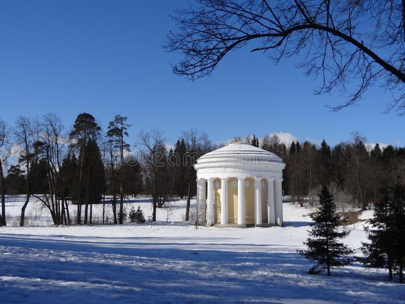 Khram Druzhby Pavlovsk St Petersburg Rusia imágenes de archivo libres de regalías