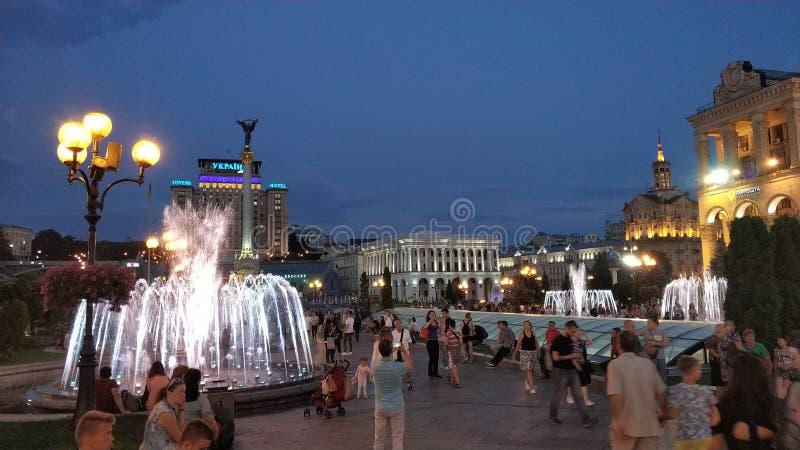 Khreshchatyk, Киев стоковая фотография rf