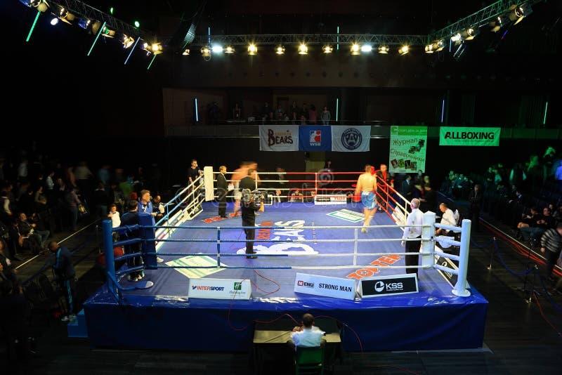 khrgovich för ismailov för filip heavyweightislam vs royaltyfri bild