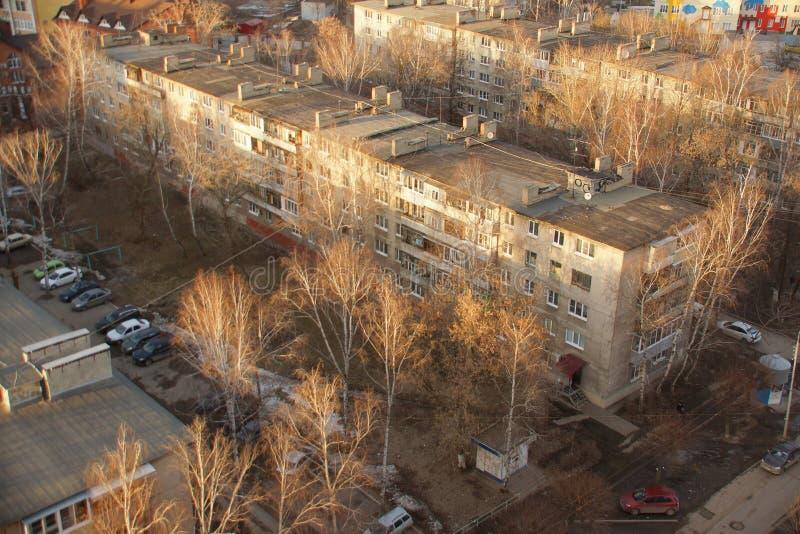 Khrushchev dom USSR zdjęcia royalty free