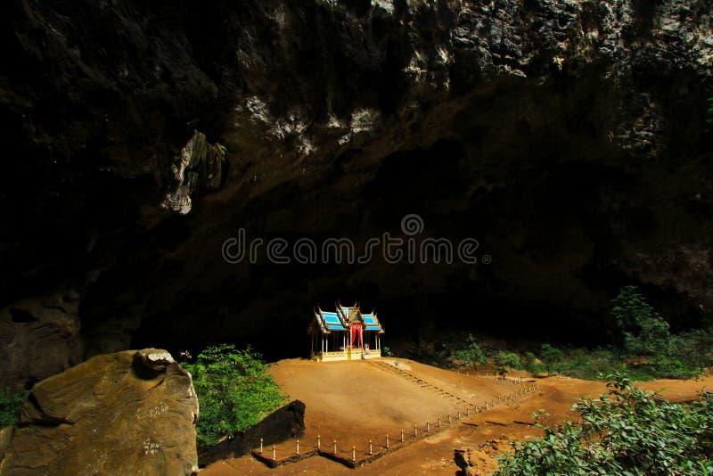 Khuha Kharuehat Pavilion, Phraya Nakhon Cave, Khao Sam Roi Yot National Park, Thailand. Khuha Kharuehat Pavilion in Khao Sam Roi Yot National Park, is a historic royalty free stock photo