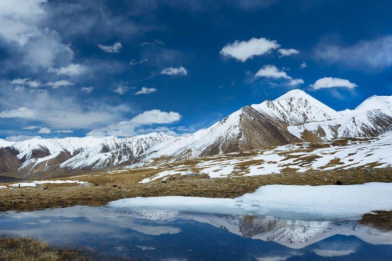 Khujerab przepustka północny Pakistan zdjęcie royalty free