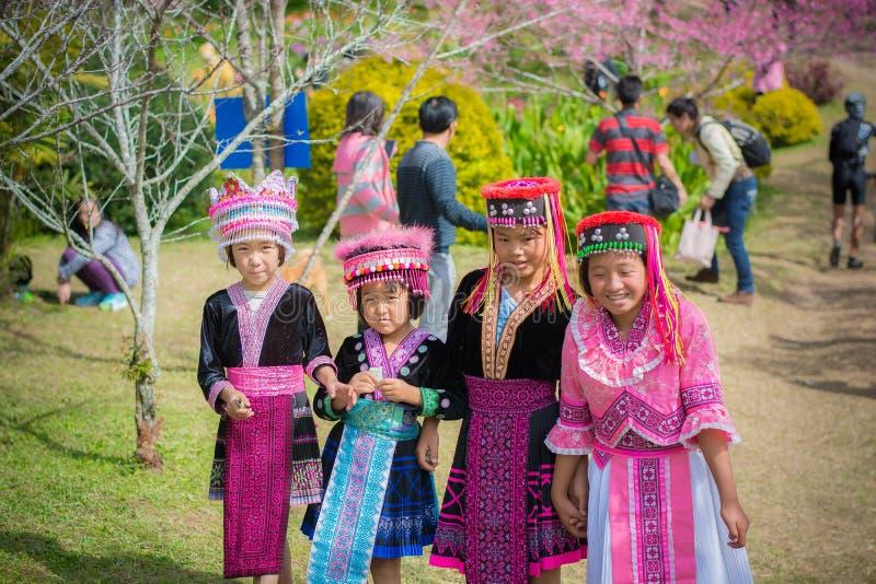 Khun Chang Kian Girls imagen de archivo libre de regalías