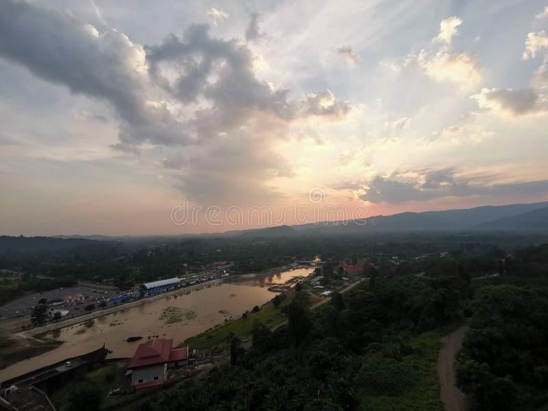 Khun dan prajarn chon dam at Nakhon Nayok in Thailand royalty free stock photos